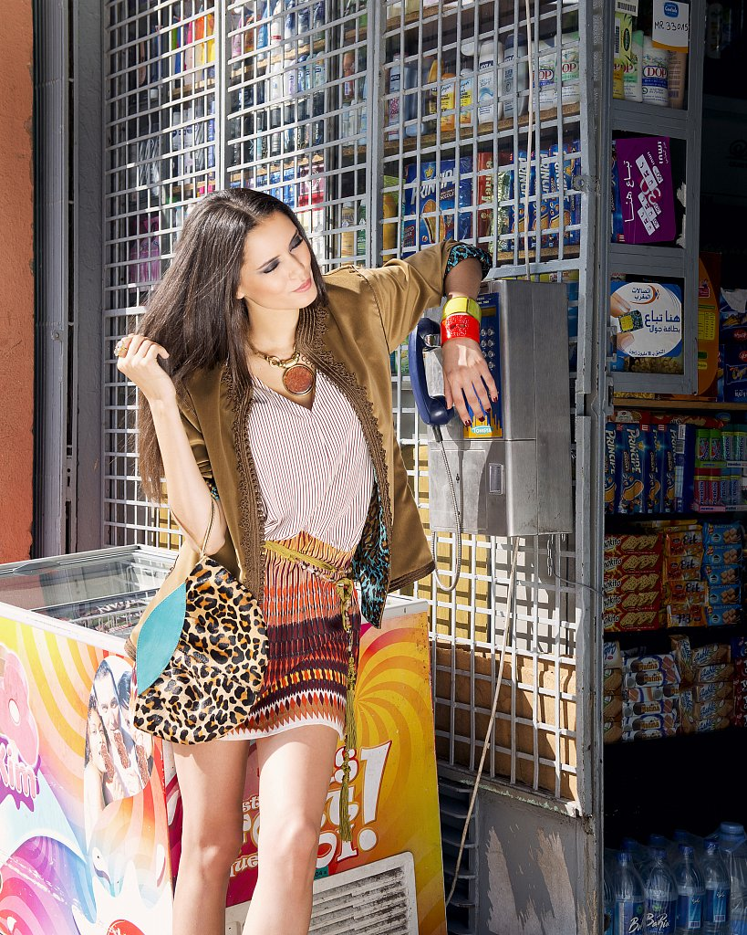 Modele: Lamia Alaoui
