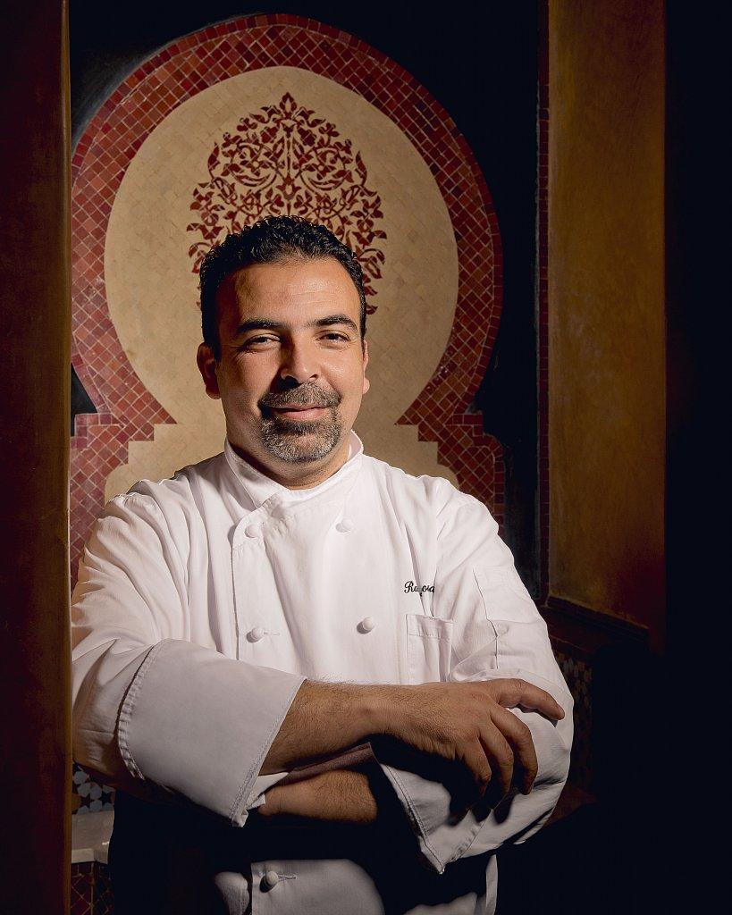 Chef Rachid du restaurant marocain de l'hôtel